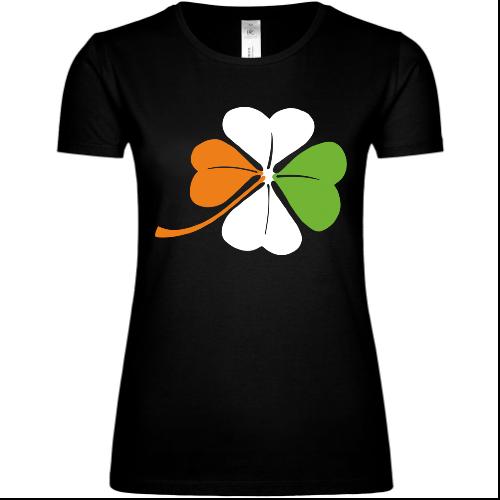 Irish Cloverleaf Frauen T-Shirt