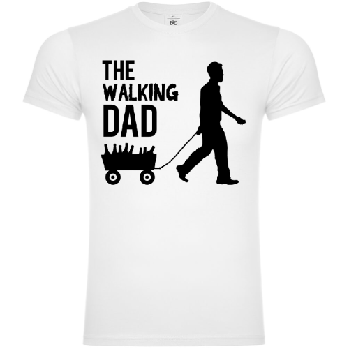 The Walking Dad Beer T-Shirt