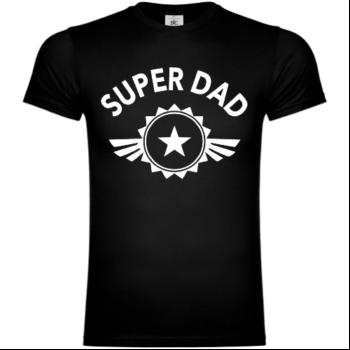 Super Dad Star T-Shirt