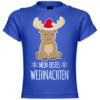 Mein erstes Weihnachten Elch Baby T-Shirt