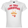 My First Christmas Rudolph Baby T-Shirt