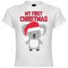 My First Christmas Koala Baby T-Shirt