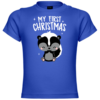 My First Christmas Baby Skunk Baby T-Shirt