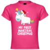 My First Magical Christmas Unicorn Baby T-Shirt