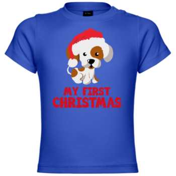 My First Christmas Dog Baby T-Shirt
