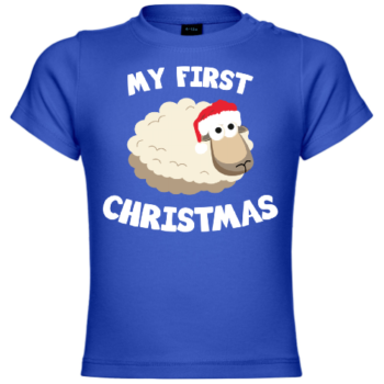 My First Christmas Sheep Baby T-Shirt