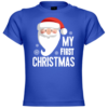 My First Christmas Santa Claus Baby T-Shirt