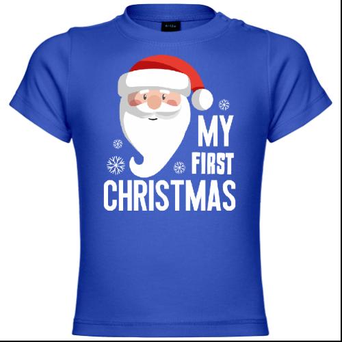 My First Christmas Santa Claus Baby T-Shirt