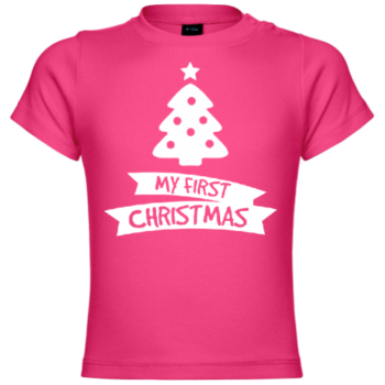My first Christmas Tree Baby T-Shirt