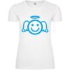 Angel Smiley Icon Frauen T-Shirt