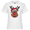 Cute Christmas Reindeer Kinder T-Shirt