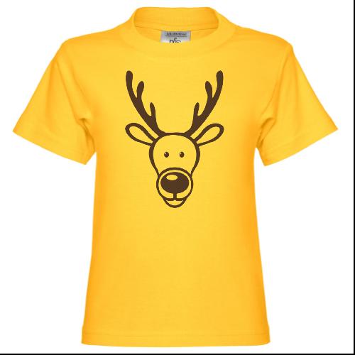 Cute Reindeer Kinder T-Shirt