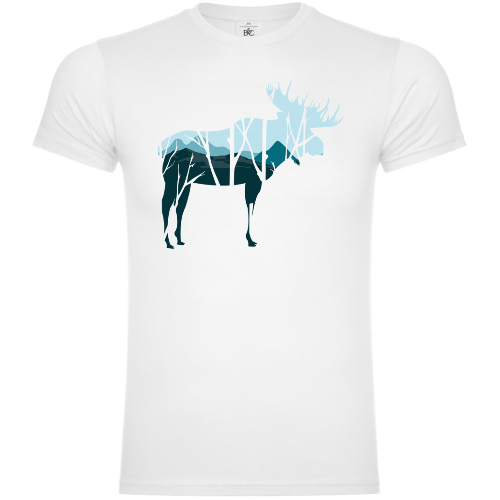 Moose Skyline T-Shirt
