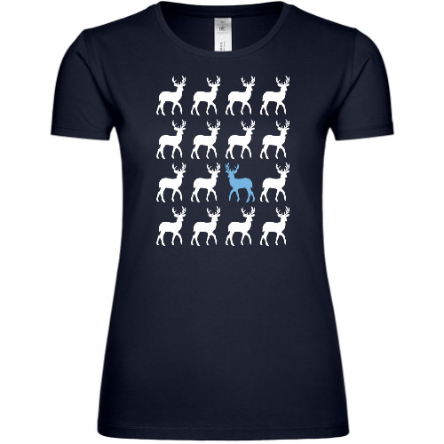 Different Moose Frauen T-Shirt