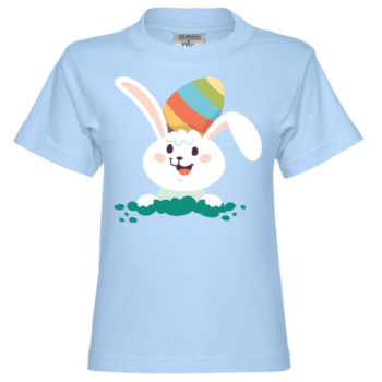 Easter Bunny Comic Kinder T-Shirt