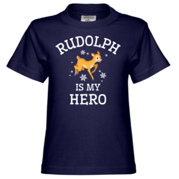 Rudolph Is My Hero Kinder T-Shirt
