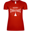 Merry Christmas Tree Frauen T-Shirt