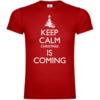 Keep Calm Christmas Is Coming T-Shirt