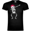 Santa Skeleton Dabbing T-Shirt