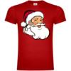 Weihnachtsmann Gesicht T-Shirt