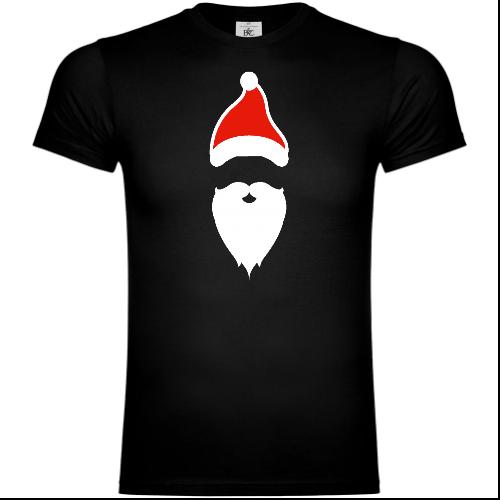 Santa Beard And Hat T-Shirt