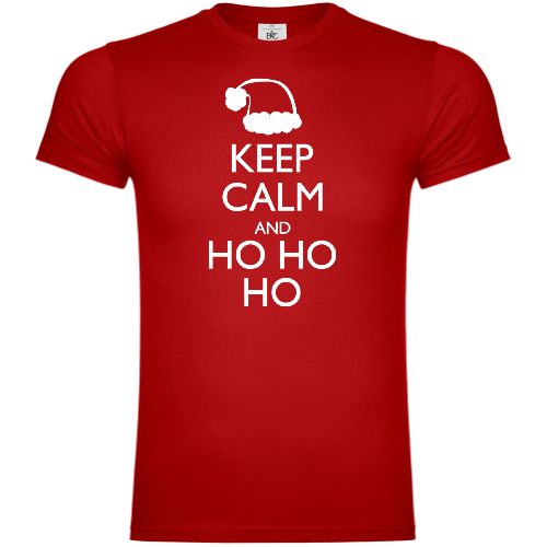 Keep Calm And Ho Ho Ho T-Shirt