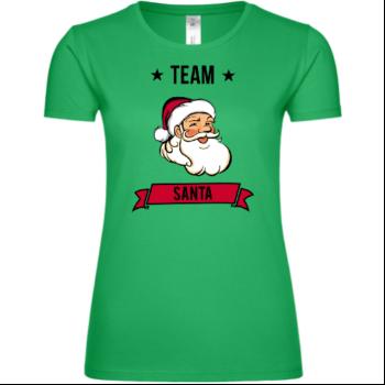 Team Santa Claus Frauen T-Shirt