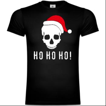 Ho Ho Ho Skull T-Shirt