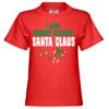 I Saw Mommy Kissing Santa Claus Kinder T-Shirt