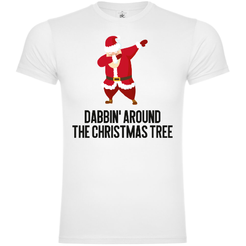 Dabbin`Around The Christmas Tree T-Shirt