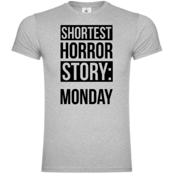 Shortest Horror Story Monday T-Shirt