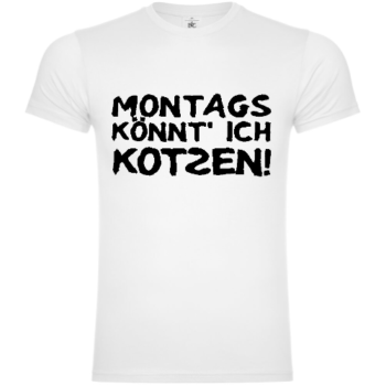 Hasse Montags T-Shirt
