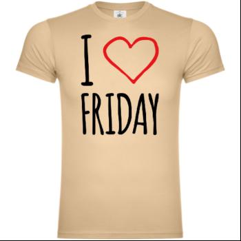 I Love Friday T-Shirt