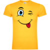 Winky Face Comic Style T-Shirt