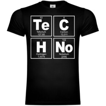 Techno Periodic Table T-Shirt