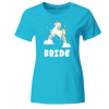 Bride Unicorn Frauen T-Shirt