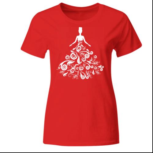 Floral Bride Frauen T-Shirt