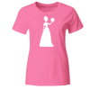 Bride Silhouette Frauen T-Shirt