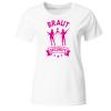 Braut Security bewaffnet Frauen T-Shirt