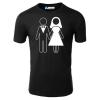Hochzeit Ehepaar T-Shirt