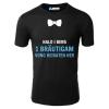 Halo i bims 1 Bräutigam vong heiraten her T-Shirt