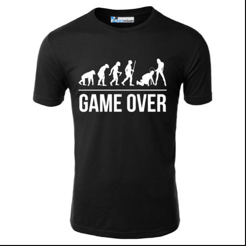 Game Over Man Evolution T-Shirt