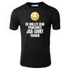 Er wollte kein peinliches JGA-Shirt tragen T-Shirt