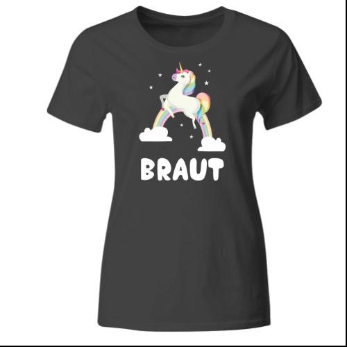 Braut Einhorn Frauen T-Shirt