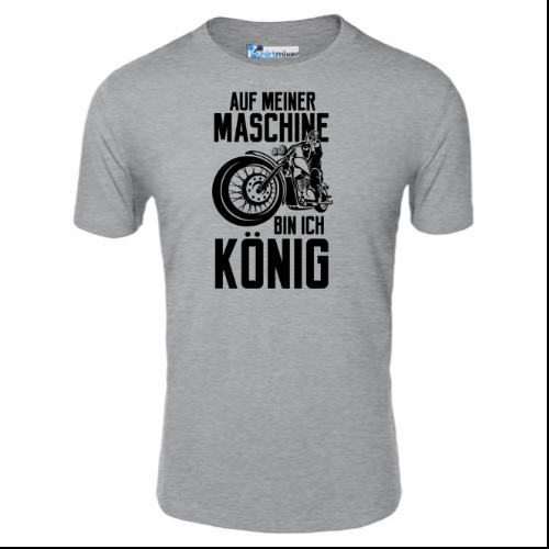 Auf meiner Maschine bin ich König T-Shirt