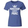 Prinzessin heiratet Prinz Frauen T-Shirt