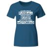 Götter fahren Motorrad Frauen T-Shirt