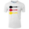 Dartpfeile Deutschland T-Shirt