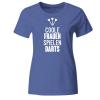 Coole Frauen spielen Darts Frauen T-Shirt