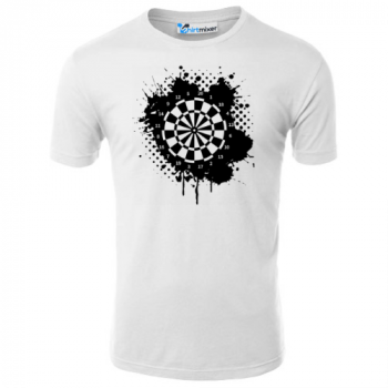 Darts Board Watercolor T-Shirt